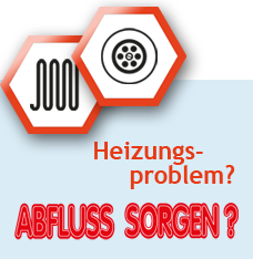 Heizungs-problem? Abfluss Sorgen?